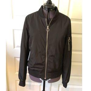 Garage - Black Bomber Jacket